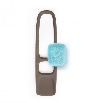 Игрушка для песка и снега Quut, лопатка с ситом SСOPPI, цвет серый/голубой