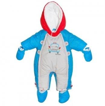 Комбинезон-трансформер для мальчика Barbaras, арт.R224-12, возраст от 3 до 6 месяцев