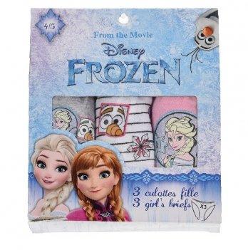 Трусики для девочки Disney Official Frozen, комплект 3шт