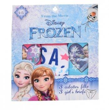 Трусики для девочки Disney Official Frozen, 3шт