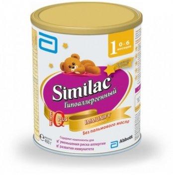 Заменитель грудного молока Abbott Labaratories Similac  Гипоаллергенный 1