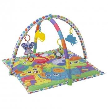 Развивающий коврик Playgro, Друзья-животные, 0185477