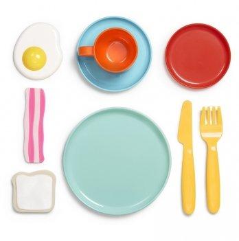 Игровой набор посуды Kid O, Завтрак, 9 предметов
