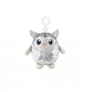 Мягкая игрушка с пайетками Shimmeez, Хорошенькая овечка, 9 см, на клипсе