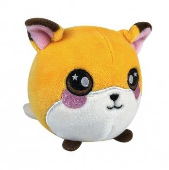 Ароматная мягкая игрушка Squeezamals, Фокси лисичка, 9 см