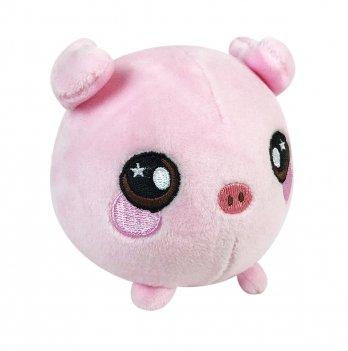 Ароматная мягкая игрушка Squeezamals, Пинки свинка, 9 см