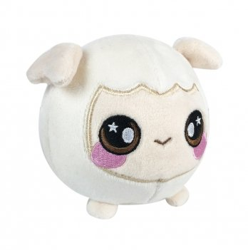 Ароматная мягкая игрушка Squeezamals, Пушистик овца, 9 см