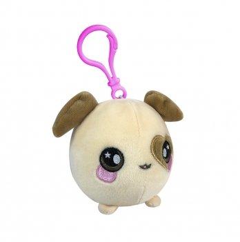 Ароматная мягкая игрушка  на клипсе Squeezamals, Плямчик щенок, 6 см