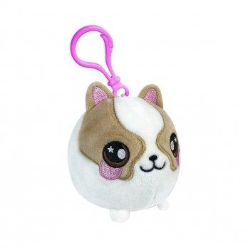 Ароматная мягкая игрушка  на клипсе Squeezamals, Корги собачка, 6 см
