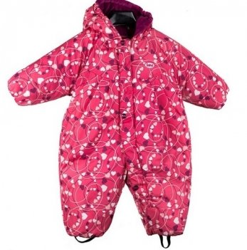 Комбинезон зимний для девочки Gusti, 2598 SWG, розовый
