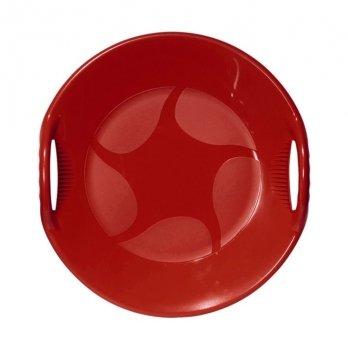 Зимние санки-тарелка Alpen Gaudi, Alpen Ufo, красные