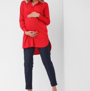 Рубашка красная для беременных мам Dianora, 1863 0621