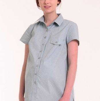 Рубашка MATATA (мятная в белый горошек), White Rabbit