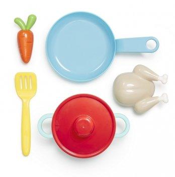 Игровой набор посуды Kid O, Обед, 6 предметов