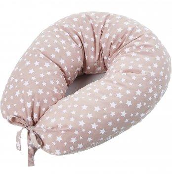 Подушка для кормления Veres Smiling animals beige