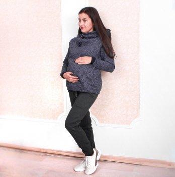 Теплые спортивные штаны для беременных Lullababe Vancouver Антрацит LB10VN101-WN