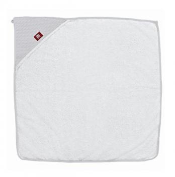 Полотенце с капюшоном Red Castle бело - серое