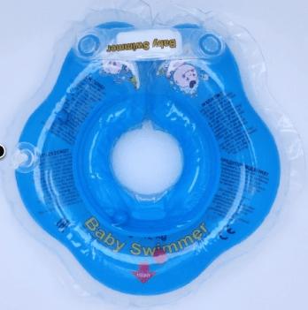 Круг BabySwimmer для детей от 0-24 месяцев и 3-12 кг, голубой