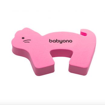 Защитная блокада дверей BabyOno Животные, 958 Розовый