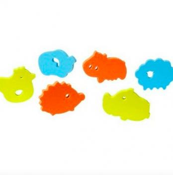 Игрушки для ванной BabyOno Пазлы Зоопарк
