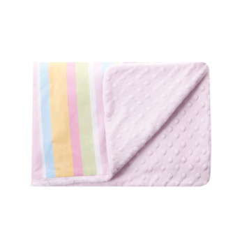 Детский плед Cotton Living Sweet Stripe Pink