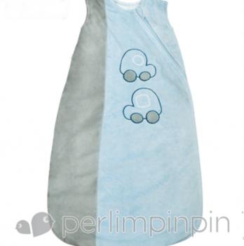 Спальный мешок плюшевый, гладкий Perlimpinpin Машинки