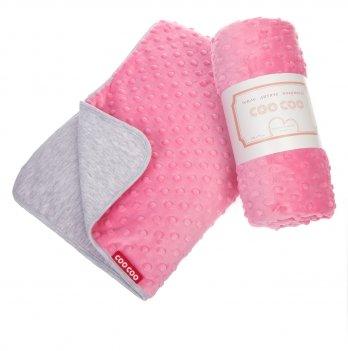 Теплое детское одеяло, COO COO, розовое, Соо15