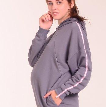 Бобка для беременных и кормящих мам White Rabbit Bubble, серый
