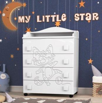 Комод в детскую комнату СидиМ Тандем Dresser Tandem