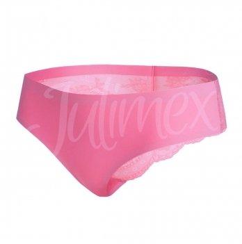 Трусики бесшовные Jullimex Tanga темно-розовые