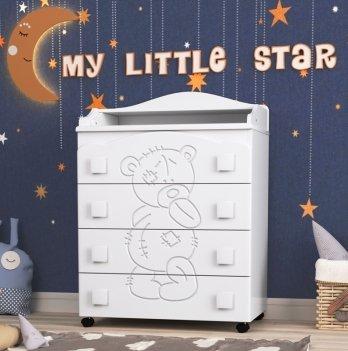 Комод в детскую комнату СидиМ Тедди Dresser Teddy
