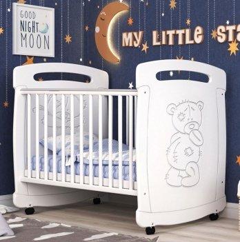 Детская кроватка СидиМ Тедди Baby Cot Teddy
