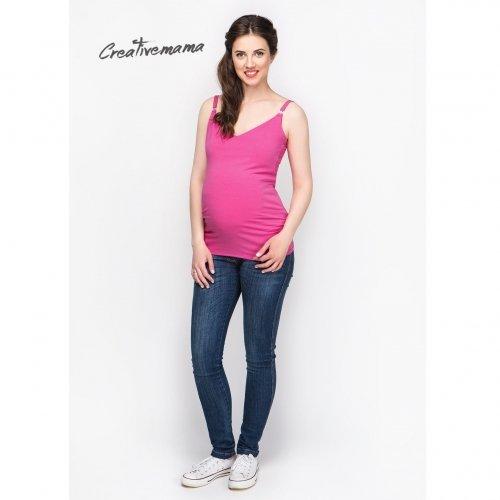 Топ для беременных и кормящих мам Creative Mama, Malina