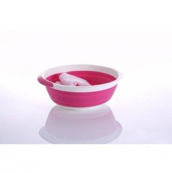 Мини-тазик универсальный Babyhood, складной, розовый