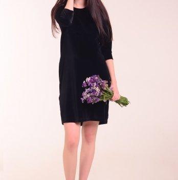 Платье для беременных и кормящих мам White Tereza, черный