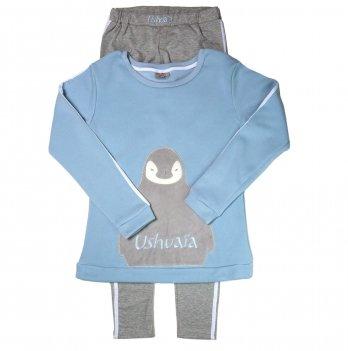 Домашний костюм для девочки Ushuaia Пингвин