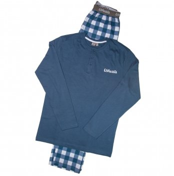 Пижама для мальчика Ushuaia синяя