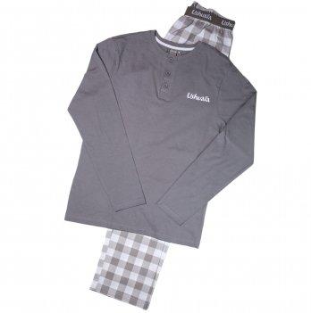 Пижама для мальчика Ushuaia серая
