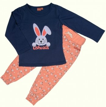 Пижама для девочки Ushuaia Зайчонок