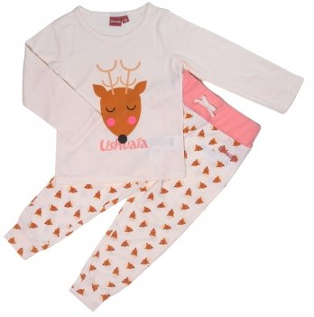 Пижама для девочки Ushuaia Олененок