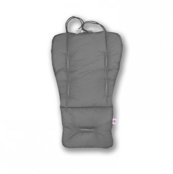 Матрасик-трансформер в коляску Universal Classic Ontario Baby серый ART-0000105