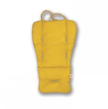 Матрасик-трансформер в коляску Universal Classic Ontario Baby желтый ART-0000154