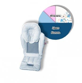 Матрасик-трансформер в коляску Universal Elite Ontario Baby синий ART-0000110