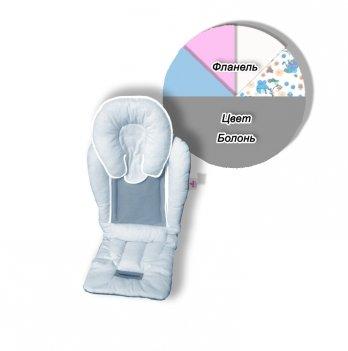 Матрасик в коляску и автокресло Ontario Baby Universal Elite Серый ART-0000283