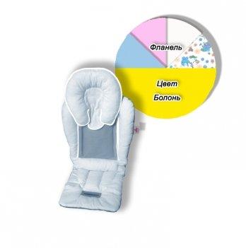 Матрасик-трансформер в коляску Universal Elite Ontario Baby желтый ART-0000159