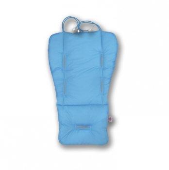 Матрасик-трансформер в коляску Universal Prenium Ontario Baby голубой ART-0000275