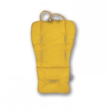 Матрасик-трансформер в коляску Universal Prenium Ontario Baby желтый ART-0000157