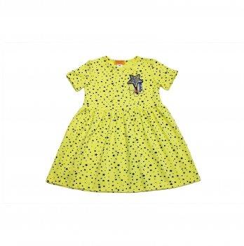 Платье для девочки Danaya 2-7 лет Желтый В19-141