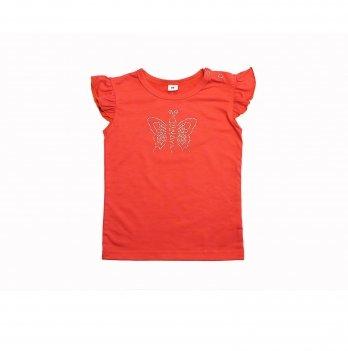 Футболка для девочек Danaya 2-4 года Оранжевый ВЛ20-30