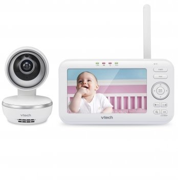 Видеоняня цифровая с дистанционным поворотом камеры с колыбельными и экраном 5 Vtech VM5261